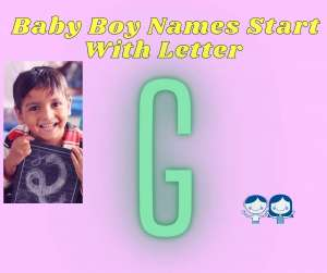 G 300x251 - List Of Christian Baby Boy Names Start With Letter G