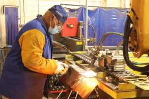 Learn how to be a welder with welding tech school like this welding tech student at PTTI