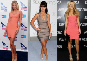 ALL ABOUT STYLING A BANDAGE DRESS 1 300x212 - All About Styling a Bandage Dress