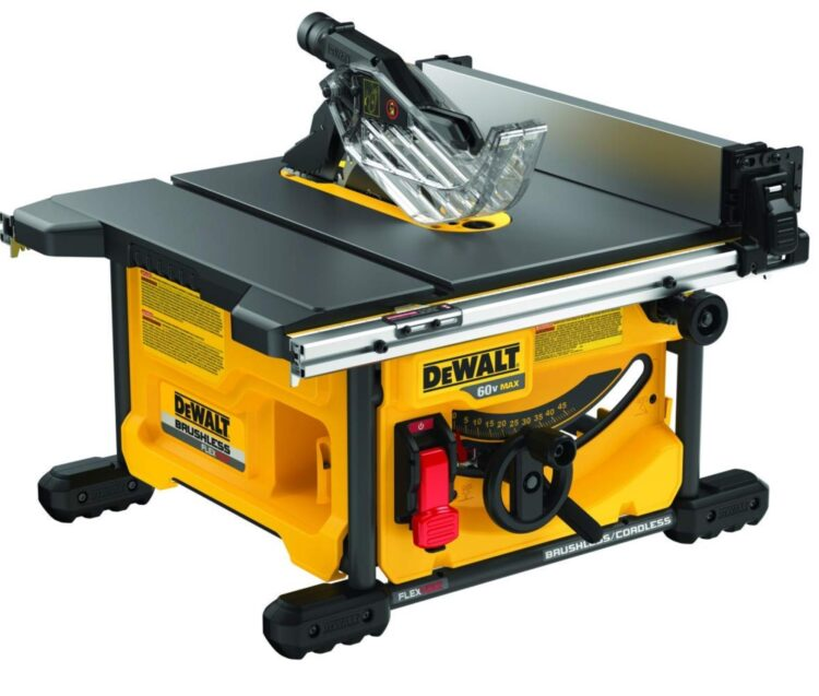 DEWALT DCS7485B 750x637 1 - 3 Table Saw Cheapest Price: Reviews & Top Choices [2021 Updated]